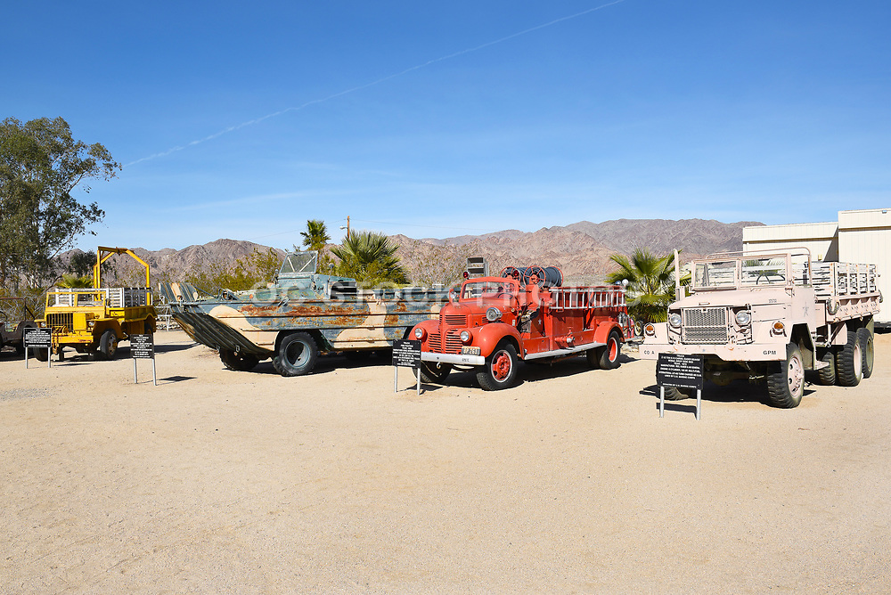 Military Vehicles on display at the General Patton Memorial Museum
