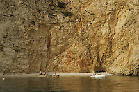 Coves on Krk Island, Croatia