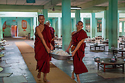 Kha Khat Wain Kyaung Monastery Dining Room (Bago, Myanmar)