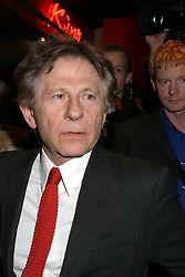Feb 19, 2004; Warsaw, POLAND; Director ROMAN POLANSKI at the premiere of 'Corps A Corps' staring Emmanuelle Seigner..  (Credit Image: ONS/ZUMAPRESS.com)