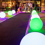 NLD/Amsterdam/20171019 - Ingang ADE Radio538 hotel in Amsterdam, met versieringen