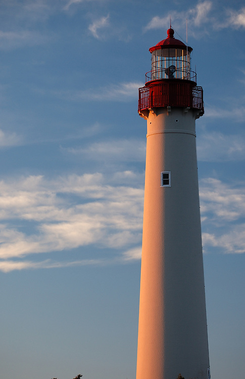 Sunrise, Cape May Lighthouse, NJ (US).