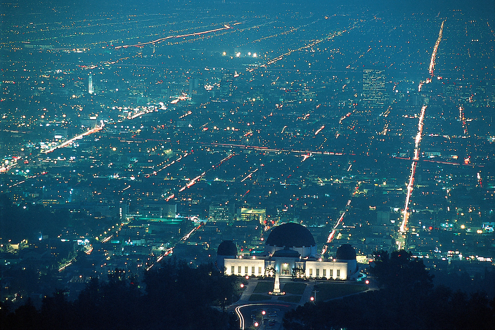 California. Griffith Observatory and Planetarium in Los Angeles