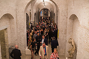 Opening of The New Royal Academy of arts, London. 15 May 2018