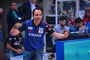 DESCRIZIONE : Trento Lega A 2014-15 Dolomiti Energia Trento Banco di Sardegna Sassari<br /> GIOCATORE : Paolo Citrini<br /> CATEGORIA : Allenatore Coach Mani <br /> SQUADRA : Banco di Sardegna Sassari<br /> EVENTO : playoff gara 2 Lega A 2014-2015<br /> GARA : Dolomiti Energia Trento Banco di Sardegna Sassari<br /> DATA : 20/05/2015<br /> SPORT : Pallacanestro<br /> AUTORE : Agenzia Ciamillo-Castoria/M.Ozbot<br /> Galleria : Lega Basket A 2014-2015 <br /> Fotonotizia: Trento Lega A 2014-15 Dolomiti Energia Trento Banco di Sardegna Sassari