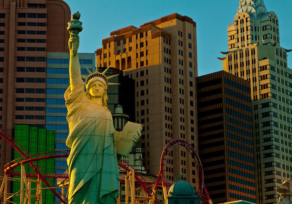 New York, New York Casino, Las Vegas Strip, Nevada