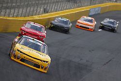 May 26, 2018 - Concord, North Carolina, United States of America - Alex Labbe (36) brings his car through the turns during the Alsco 300 at Charlotte Motor Speedway in Concord, North Carolina. (Credit Image: © Chris Owens Asp Inc/ASP via ZUMA Wire)