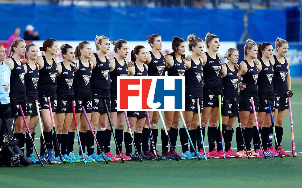 New Zealand, Auckland - 20/11/17  <br /> Sentinel Homes Women&rsquo;s Hockey World League Final<br /> Harbour Hockey Stadium<br /> Copyrigth: Worldsportpics, Rodrigo Jaramillo<br /> Match ID: 10300 - NZL vs USA<br /> Photo: