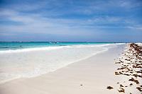 Stunning tropical vistas at Tulum Beach near Playa Del Carmen, Mexico.