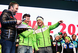 ZUTS Slovenije during reception of Slovenian Winter athletes after the end of season 2015/16, on March 22, 2016 in Kongresni trg, Ljubljana, Slovenia. Photo by Matic Klansek Velej / Sportida