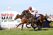 iMUSHARRIF (12) ridden by Ger O'Neill and trained by Declan Carroll winning The Constant Security Handicap Stakes over 5f (£9,400) during the Beverley Bullet Day at Beverley Racecourse, Beverley, United Kingdom on 1 September 2018. Picture by Mick Atkins.