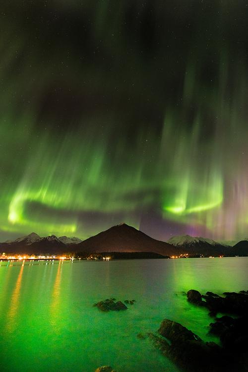 Northern Lights above Sitka