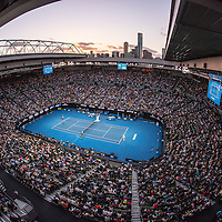 A general view of Rod Laver Arena on day nine of the 2017 Australian Open at Melbourne Park on January 24, 2017 in Melbourne, Australia.<br /> (Ben Solomon/Tennis Australia)