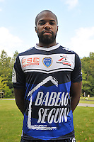 Quentin Othon - 03.09.2014 - Photo Officielle Troyes - <br /> Photo : Philippe Le Brech / Icon Sport