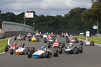 HSCC Gold Cup Oulton Park, Cheshire, United Kingdom.  28th-29th August 2011.  Race 4 HSCC Classic Racing Cars. Supported by Cubicle Centre Ltd. 71 Chris Holland Brabham BT21. World Copyright: Peter Taylor/PSP. Copy of publication required for printed pictures. Every used picture is fee-liable.