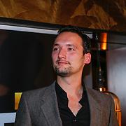 NLD/Amsterdam/20121126 - Bekendmaking FHM 500 Mooiste Meisjes 2012, hoofdredacteur Sander Kersten