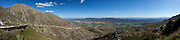 Swartberg Pass on the southern side. Stitched panoramic image. Greg Beadle shoots panoramic images