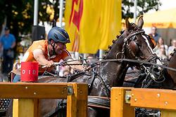 De Ronde Koos, (NED), Alino, Palero, Santana, Ulano<br /> Pallen Marathon<br /> CHIO Aachen 2016<br /> © Hippo Foto - Dirk Caremans<br /> 16/07/16