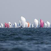1 ère course atlantique en solitaire de la Saison Mini 6.50 2017. 300 milles en solitaire au départ de pornichet