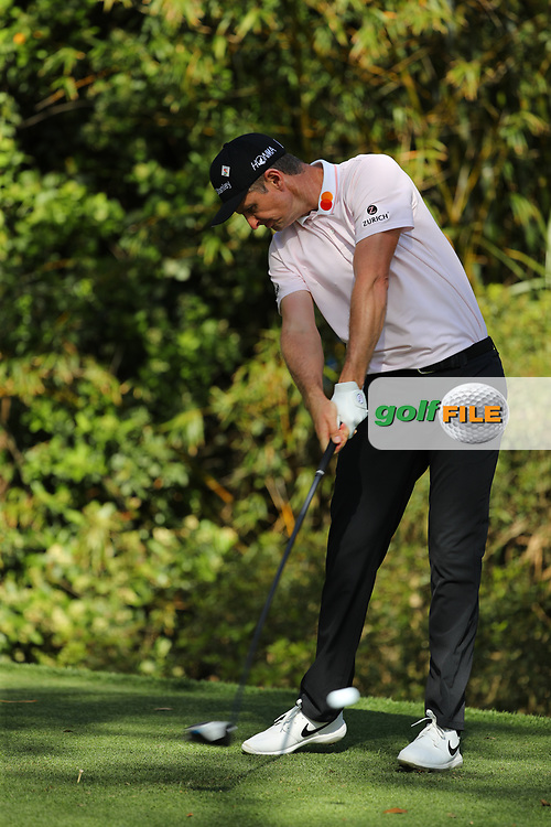 Justin Rose (ENG) during Round 1 of the Players Championship, TPC Sawgrass, Ponte Vedra Beach, Florida, USA. 12/03/2020<br /> Picture: Golffile   Fran Caffrey<br /> <br /> <br /> All photo usage must carry mandatory copyright credit (© Golffile   Fran Caffrey)