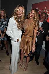 Left to right, ELLE MACPHERSON and WHITNEY PORT at the 2012 Rodial Beautiful Awards held at The Sanderson Hotel, Berners Street, London on 6th March 2012.