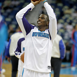 Oct 10, 2009; New Orleans, LA, USA; New Orleans Hornets guard Chris Paul during shoot around prior to tip off against the Oklahoma City Thunder at the New Orleans Arena. Mandatory Credit: Derick E. Hingle-US PRESSWIRE