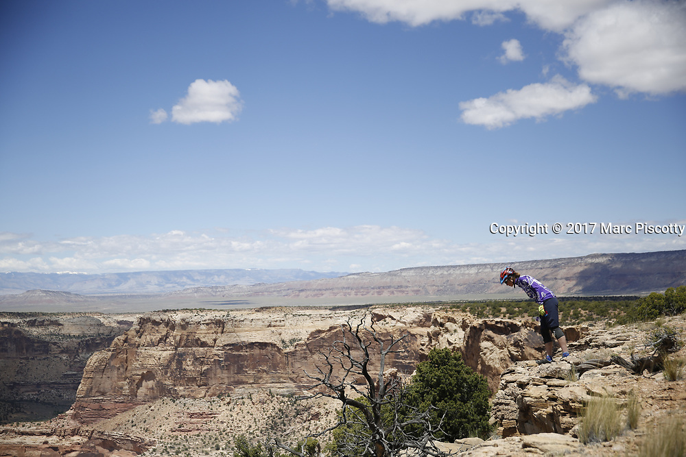 SHOT 5/20/17 12:33:55 PM - Emery County is a county located in the U.S. state of Utah. As of the 2010 census, the population of the entire county was about 11,000. Includes images of mountain biking, agriculture, geography and Goblin Valley State Park. (Photo by Marc Piscotty / © 2017)