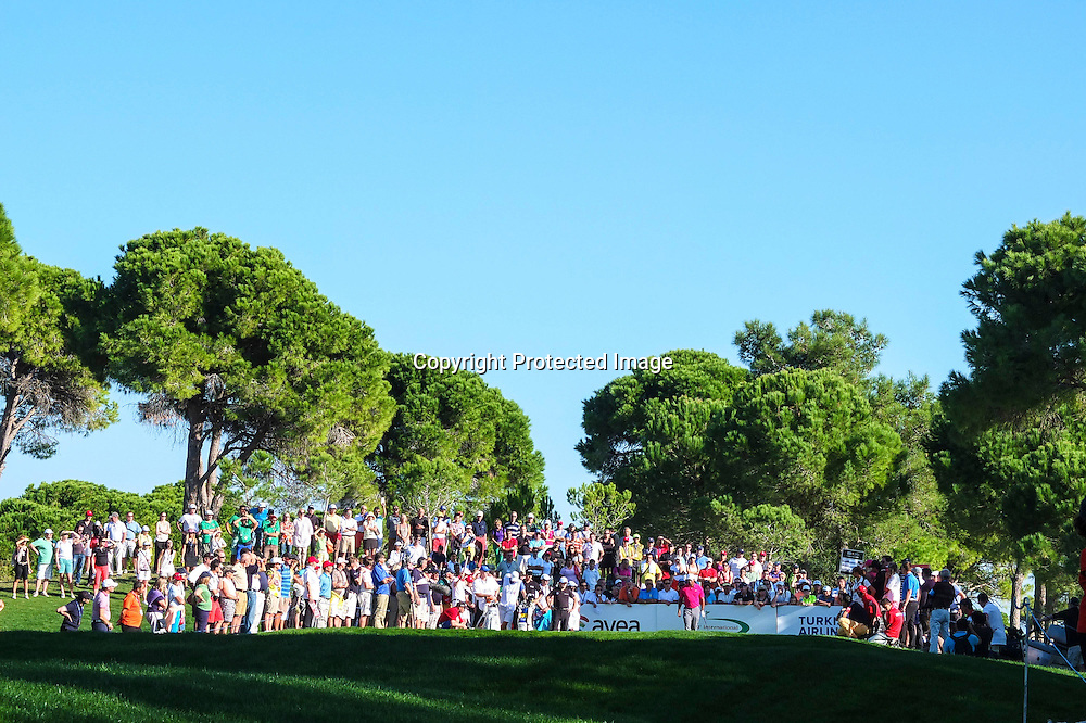 09-11-13 European Tour 2013, Final Series: Turkish Airlines Open presented by the Ministry of Tourism and Culture, The Montgomerie Maxx Royal, Antalya, Turkey. 07-10 nov Tiger  Woods of United States during the third round.