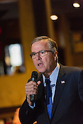 Former Florida Governor and potential Republican presidential candidate Jeb Bush speaks to supporters at an early morning GOP breakfast event March 18, 2015 in Myrtle Beach, South Carolina.