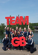 Caversham, Nr Reading, Berkshire.<br /> <br /> GBR  W8+. Bow. GBR W8+, Bow Katie GREVES, Melanie WILSON, Frances HOUGHTON, Polly SWANN, Jessica EDDIE, Olivia CARNEGIE-BROWN, Karen BENNETT Zoe LEE and Cox, Zoe DE TOLEDO, with coachs left. James HARRIS   and right Paul THOMPSON, Olympic Rowing Team Announcement  Press conference at the RRM. Henley.<br /> <br /> Thursday  09.06.2016<br /> <br /> [Mandatory Credit: Peter SPURRIER/Intersport Images]