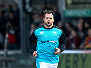 Dan Evans of Ospreys during the pre match warm up<br /> <br /> Photographer Simon King/Replay Images<br /> <br /> Guinness PRO14 Round 12 - Dragons v Ospreys - Sunday 30th December 2018 - Rodney Parade - Newport<br /> <br /> World Copyright © Replay Images . All rights reserved. info@replayimages.co.uk - http://replayimages.co.uk