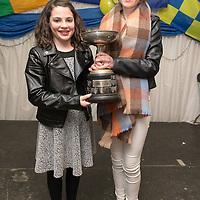 Aoibheann Madden and Katie Green, U13