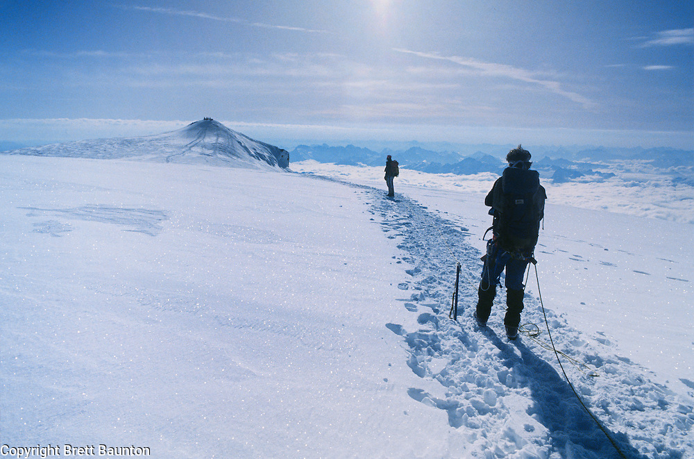 Mt. Baker, Summit, Glacier Climbing, WA