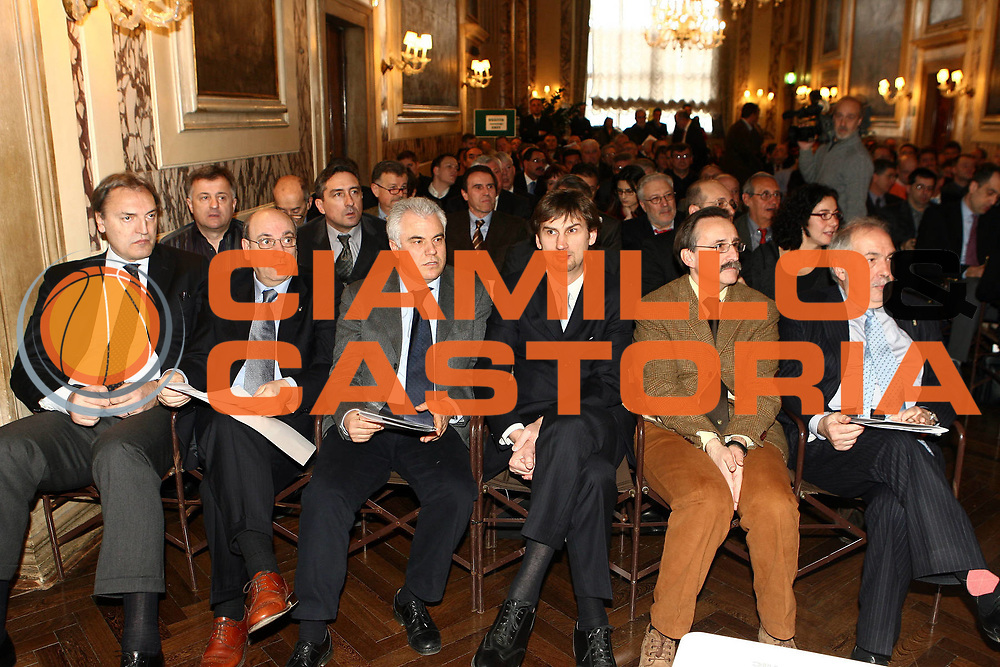 DESCRIZIONE : Venezia Casino di Venezia Draw Fiba Europe <br /> GIOCATORE : Dino Meneghin Bertea Fausto Maifredi<br /> SQUADRA : FIP Federazione Italiana Pallacanestro <br /> EVENTO : Draw Fiba Europe<br /> GARA : <br /> DATA : 16/02/2008 <br /> CATEGORIA : Ritratto<br /> SPORT : Pallacanestro <br /> AUTORE : Agenzia Ciamillo-Castoria/E.Castoria<br /> Galleria : Fip Nazionali 2008<br /> Fotonotizia : Venezia Casino di Venezia Draw Fiba Europe<br /> Predefinita :