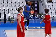 Taylor Jamal Tyshawn<br /> A|X Armani Exchange Milano - Fiat Torino<br /> Zurich Connect Supercoppa 2018-2019<br /> Lega Basket Serie A<br /> Brescia 30/09/2018<br /> Foto Ciamillo & Castoria