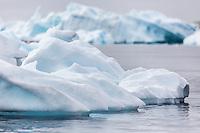 Wonderful Icy scenery of Antarctica