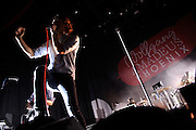 French rock band Phoenix performing at the Pageant in St. Louis on August 9, 2010.