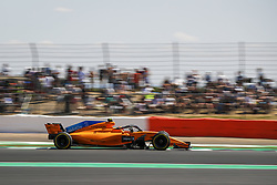 July 8, 2018 - Silverstone, Great Britain - Motorsports: FIA Formula One World Championship 2018, Grand Prix of Great Britain, .#2 Stoffel Vandoorne (BEL, McLaren F1 Team) (Credit Image: © Hoch Zwei via ZUMA Wire)