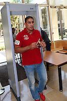 Issam Tej - 17.06.2015 - Proces des paris sportifs du Handball - Montpellier<br /> Photo : Alexandre Dimou / Icon Sport