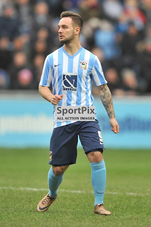 Adam Armstrong Coventry City, Coventry City v Burton Albion, Ricoh Arena,  Sky Bet League 1, Saturday 16th JJanuary 2016, (Mike Capps/Sportpix)