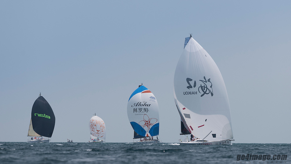 Aloha Round Hainan Regatta<br /> Leg start offshore race from Sanya to Haiku