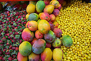 Fruit and vegetable market, Vallarta Food Tours, El Pitillal, Puerto Vallarta, Jalisco, Mexico