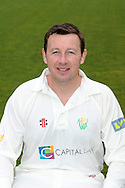 Robert Croft. Glamorgan County Cricket Club, season 2012, photocall at the Swalec Stadium in Cardiff. pic by Andrew Orchard