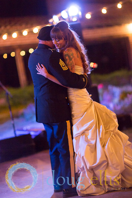 Jawna Endres and Remington Stickney location wedding photography by Santa Barbara wedding photographer Doug Ellis.
