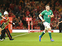 Rugby - 2019 pre-Rugby World Cup warm-up (Under Armour Summer Series) - Wales vs. Ireland<br /> <br /> Peter O'Mahony (C),of Ireland leads ireland onto the field , at Principality (Millennium) Stadium.<br /> <br /> COLORSPORT/WINSTON BYNORTH