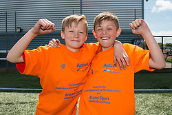 Children pose for a photo during the Bristol Sport Festival  - Photo mandatory by-line: Dougie Allward/JMP - Mobile: 07966 386802 - 06/06/2015 - SPORT - Multi-Sport - Bristol - SGS Wise Campus - Bristol Sport Festival Of Youth Sport - Festival Of Youth