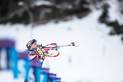 Marketa Davidova (CZE) during the Mass Start Women 12,5 km at day 4 of IBU Biathlon World Cup 2019/20 Pokljuka, on January 23, 2020 in Rudno polje, Pokljuka, Pokljuka, Slovenia. Photo by Peter Podobnik / Sportida