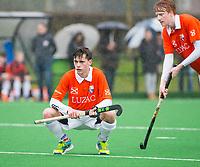 20170319 BLOEMENDAAL - landelijke jeugdcompetitie Bloemendaal Jongens JA1-Schaerweijde jongens JA1 (2-8). Tim Eeuwen (Bl'daal). COPYRIGHT KOEN SUYK