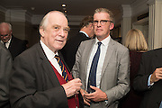 RICHARD GRIFFITHS; DOMINIC GRIFFITHS, An evening of entertainment at St James Court in support of the redevelopment of St Fagans National History Museum. In the spirit of the court of Llywelyn the Great . St. James Court Hotel. London. 17 September 2015<br />  <br /> Noson o adloniant yn St James Court i gefnogi ail-ddatblygiad Sain Ffagan Amgueddfa Werin Cymru
