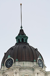 01 February 2008: Dome of the historical McLean County Courthouse, Bloomington Illinois